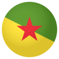 French Guiana on EmojiOne 4.0