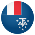 Flag: French Southern Territories on EmojiOne 4.0