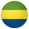 Flag: Gabon on EmojiOne 4.0