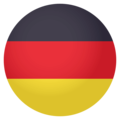 Flag: Germany on EmojiOne 4.0