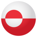 Flag: Greenland on EmojiOne 4.0