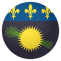 Flag: Guadeloupe on EmojiOne 4.0
