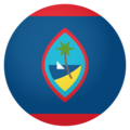 Flag: Guam on EmojiOne 4.0