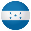 Flag: Honduras on EmojiOne 4.0
