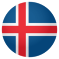 Flag: Iceland on EmojiOne 4.0