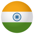Flag: India on EmojiOne 4.0