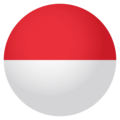 Indonesia on EmojiOne 4.0