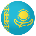 Flag: Kazakhstan on EmojiOne 4.0