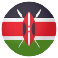 Flag: Kenya on EmojiOne 4.0