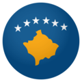 Flag: Kosovo on EmojiOne 4.0
