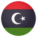 Flag: Libya on EmojiOne 4.0