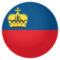Flag: Liechtenstein on EmojiOne 4.0