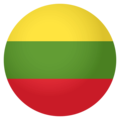 Flag: Lithuania on EmojiOne 4.0