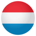 Flag: Luxembourg on EmojiOne 4.0