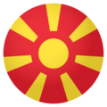 Flag: Macedonia on EmojiOne 4.0