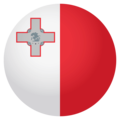 Flag: Malta on EmojiOne 4.0