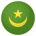 Mauritania on EmojiOne 4.0