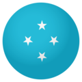 Flag: Micronesia on EmojiOne 4.0