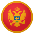 Flag: Montenegro on EmojiOne 4.0
