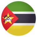 Flag: Mozambique on EmojiOne 4.0