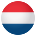 Flag: Netherlands on EmojiOne 4.0