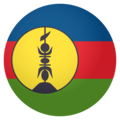 Flag: New Caledonia on EmojiOne 4.0