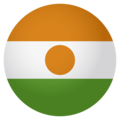 Flag: Niger on EmojiOne 4.0