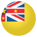 Flag: Niue on EmojiOne 4.0