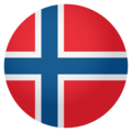 Flag: Norway on EmojiOne 4.0