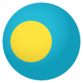 Flag: Palau on EmojiOne 4.0
