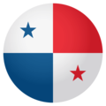 Flag: Panama on EmojiOne 4.0