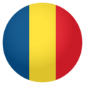 Flag: Romania on EmojiOne 4.0