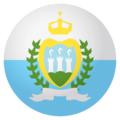 Flag: San Marino on EmojiOne 4.0