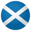 Flag: Scotland on EmojiOne 4.0