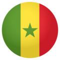 Flag: Senegal on EmojiOne 4.0