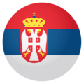 Flag: Serbia on EmojiOne 4.0