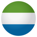 Flag: Sierra Leone on EmojiOne 4.0