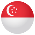 Flag: Singapore on EmojiOne 4.0