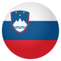 Flag: Slovenia on EmojiOne 4.0