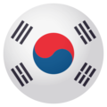 Flag: South Korea on EmojiOne 4.0