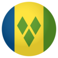 Flag: St. Vincent & Grenadines on EmojiOne 4.0