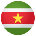 Suriname on EmojiOne 4.0
