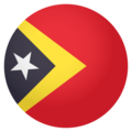 Timor-Leste on EmojiOne 4.0