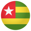 Flag: Togo on EmojiOne 4.0