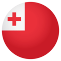 Flag: Tonga on EmojiOne 4.0