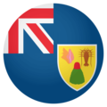 Flag: Turks & Caicos Islands on EmojiOne 4.0