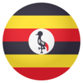 Flag: Uganda on EmojiOne 4.0