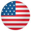 Flag: United States on EmojiOne 4.0