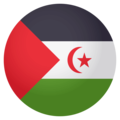 Flag: Western Sahara on EmojiOne 4.0