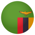 Flag: Zambia on EmojiOne 4.0